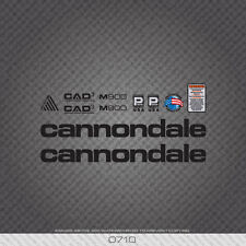 0710 Cannondale M900 Bicycle Stickers - Decals - Transfers - Black