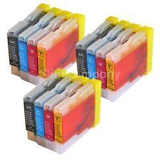 12 Drucker Tinte Patronen für Brother LC970 DCP130C DCP135C MFC230C MFC235C Set