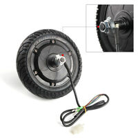 "Electric Scooter Hub Wheel Motor 24V 36V 48V DC Brushless Toothless 8"" Wheel CE"