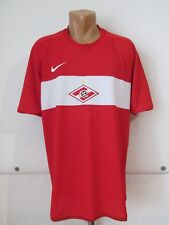 SPARTAK MOSCOW 2009/2010 HOME SHIRT JERSEY TRIKOT MAGLIA NIKE RUSSIA РОССИЯ (XL)