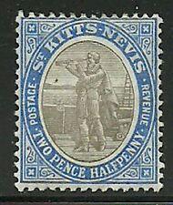 Album Treasures St Kitts & Nevis Scott # 4  2 1/2p Columbus Looking for Land MH