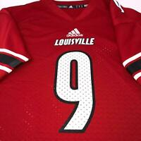 Adidas Louisville Cardinals Football Jersey #9 Youth Size Small