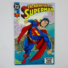 DC Comics The Adventures of Superman #505 Reign of the Superman 1993