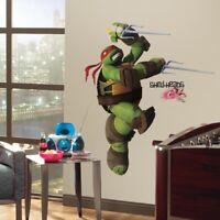 Teenage Mutant Ninja Turtles RAPHAEL GIANT WALL DECALS Stickers Kids Room Decor