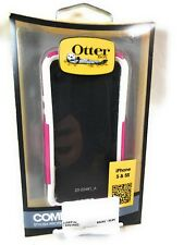 Otterbox Commuter Case, iPhone 5/5s, Hot Pink/White, 77-22977, OEM, Open Box