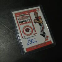2019 Ryan Finley Rookie Autograph On Card Panini Contenders RC Bengals #116