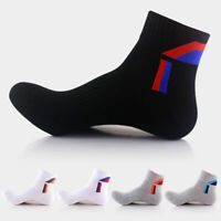 5Pairs Mens Sport Socks Lot Crew Ankle Low Cut Fashion Casual Cotton Sock 9-12