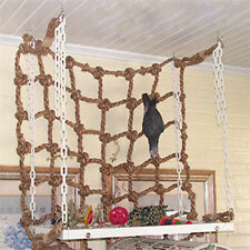 Parrot Bird Pet Rope Ladder Net Swing Toys Climbing Net Play Gym Funny Toy