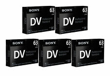 5 Sony Pro ZR Mini DV camcorder video tape for Canon ZR930 ZR80 ZR60 ZR40 ZR20