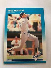 1987 Fleer Mike Marshall Los Angeles Dodgers #446