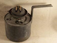 Antique Duplex ? 2 Wick Oil Kerosene Lamp Burner and Font