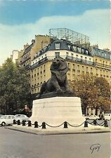 BR3688 Le lion de Belfort place Denfert Rochereau Paris   france