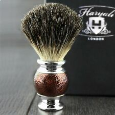 Pure Badger Hair Brush Shaving Men's Clean Shave Barber Salon and Home
