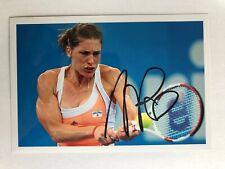 original Autogramm Tennis ZDF Sportreportage Andrea Petkovic
