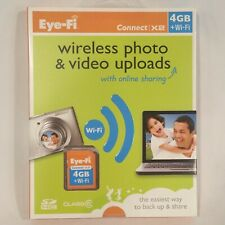 BRAND NEW ~ Eye-Fi Connect X2 4GB + Wi-Fi SD Card ~ WiFi Wireless Uploads