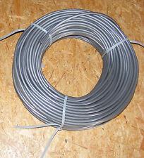 10m Kunstoff-Planenseil, 8mm Silber & 2 x Seilendverschluss 8mm mit Simplexhaken