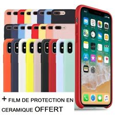 Coque Protection silicone iPhone X XR XS MAX  7 8 plus11 PRO SE 2020 12 pro max