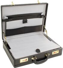 Quality Unisex Executive Faux Leather Business Briefcase Attache/Travel Case