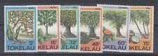 Tokelau QEII 1985 Trees Set to 75c Mint MNH J2020