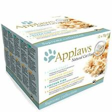 More details for applaws 100% natural wet cat food, multipack fish and chicken, 70g (pack of 12)