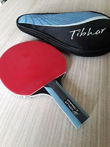 BRIBAR IMPACT ATTACK Table Tennis Bat WITH TIBHAR CASE TT EXPERTS