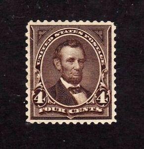 United States stamp #269, MH OG, wmk. 191, XF, SCV $75.00