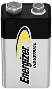 Energizer 6LR61 Industrial Battery 9V Alkaline Batteries for SMOKE ALARM. 033