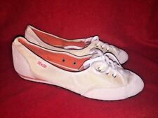 BLOW OUT SALE @ CONVERSE All Star Shiny Wedges Cream Athletic Shoes Size 9 ❤️b3