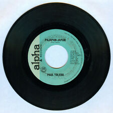Philippines PAUL TOLEDO Pajapan-Japan OPM 45 rpm Record