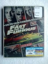New, Sealed The Fast and the Furious Limited Edition Steelbook (Blu-Ray/ DVD..)