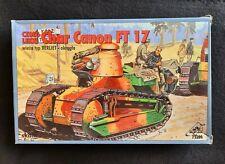 RPM Char Canon FT 17 Tank Panzer 72200 , 1:72 , Modellbausatz