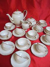 Service à café thé porcelaine VILLEROY ET BOCH METTLACH SAAR RHONE