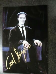 CAREL STRUYCKEN As LURCH Hand Signed Autograph 4X6 Photo - THE ADAMS FAMILY