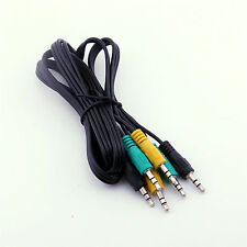 Replacement 3.5mm TRS Audio Cable for 5.1 Channel Logitech Computer Speakers 5FT