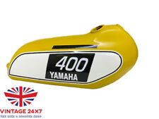 YAMAHA 250 DT / 400 DT Enduro, Yellow Painted Steel Tank 1975 to 1977 |Fit For