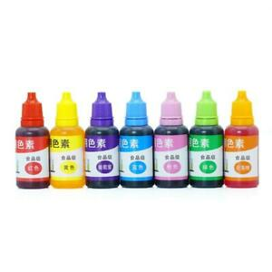 7 Colors 20ml Liquid Epoxy Resin Pigment DIY Handmade Scented Candle Coloring