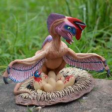 Oviraptor w/ Eggs Nest Dinosaur Toy Educational Model Birthday Gift For Kids
