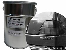 1 Litre Water Based Spray-Ready Car Paint VW Golf 2 LN6V Jade Green Metallic New