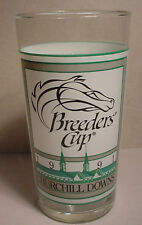 Breeders Cup 1991 Glass NM Horse Racing Churchill Downs Louisville MFG KY Mint
