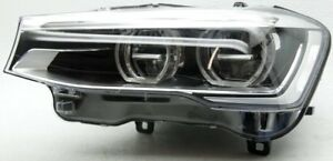 Non-US Market BMW X3, X4 Left Driver Side LED Headlamp 63-11-7-401-147