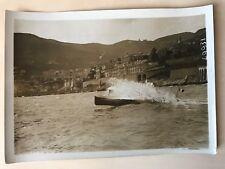P8/ PHOTOGRAPHIE des ANNEES 1920 CANOT AUTOMOBILE LE MONTE CARLO à MONACO