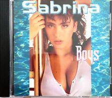 CD ALBUM ( EN ITALIEN ) SABRINA BOYS COLLECTOR TRES RARE COMME NEUF 2001