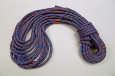"Teufelberger Braided Safety Blue 1/2"" X 70' Blue/Orange with Whipped Ends"