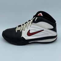 Nike Boys AV Pro 3 Basketball Shoes Black White Red Sneakers Youth 3.5