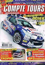 Compte Tours Magazine   N°229   Fevrier 2009 : Seb ogier sur les traces de loeb