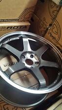 Rota wheels Grid 19x9.5 (5x114.3 + 38mm 73 Hub Bore) Tint Graphite 4 Wheels NEW