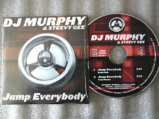 CD-DJ MURPHY & STEEVY GEE-JUMP EVERYBODY-ALFETTA MUSIC-(CD SINGLE)1999-2TRACK