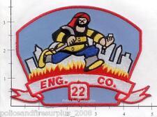 New York City NY Fire Dept Engine 22 Fire Patch v5