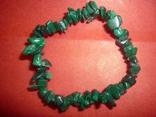 cristalloterapia BRACCIALE braccialetto MALACHITE cristallo pietra curatrice bio