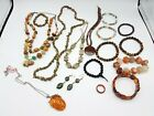 Mixed Lot of Wearable Stone Jewelry FC535